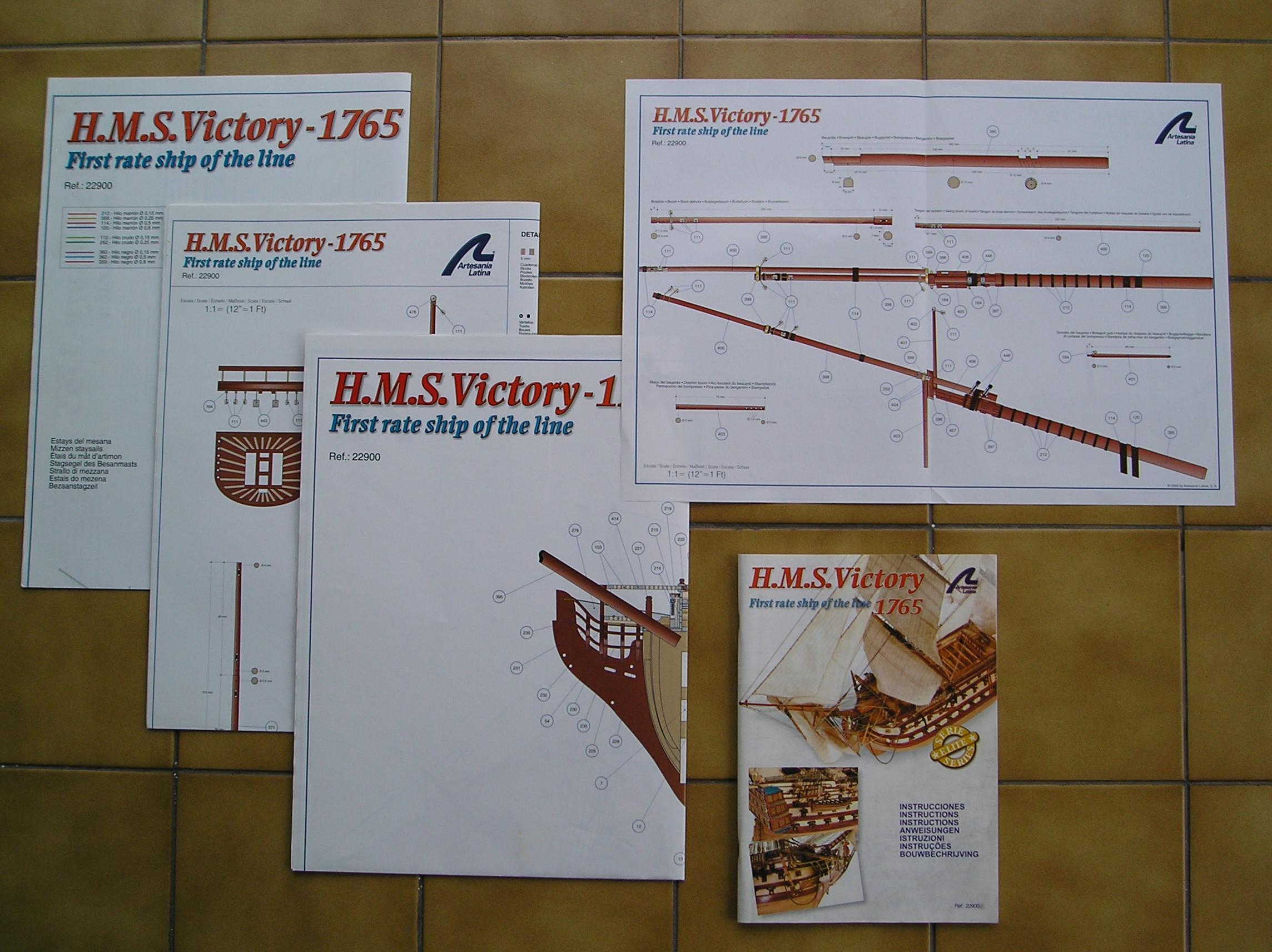 H.M.S. Victory au 1/84°plus rien à voir avec le kit 421667P1050045