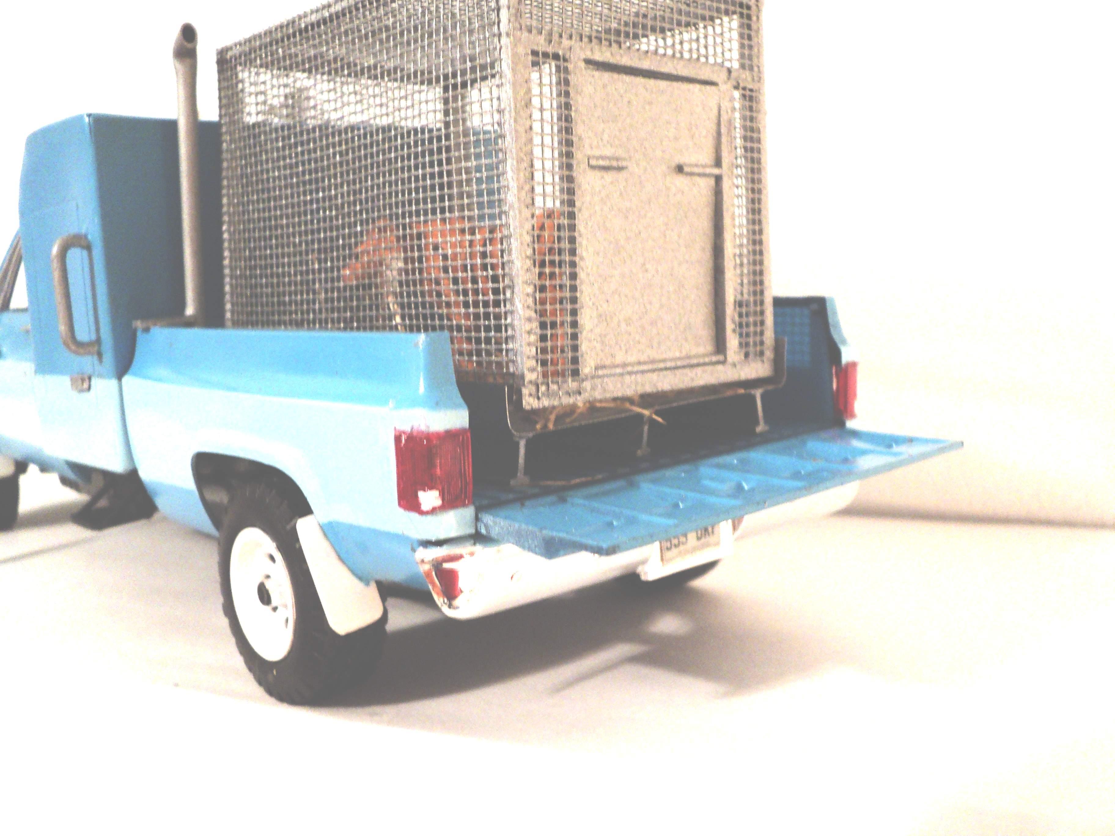 """1977 GMC pickup """"zoo taxi"""" 4221521977GMC006"""
