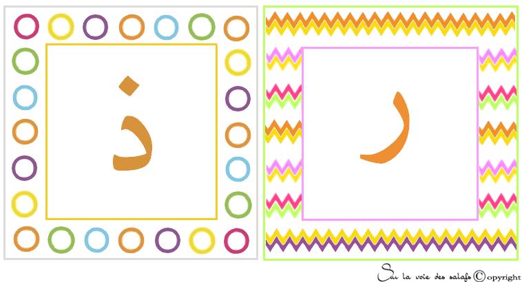 carte d'alphabet Arabe 4247675dhlroa