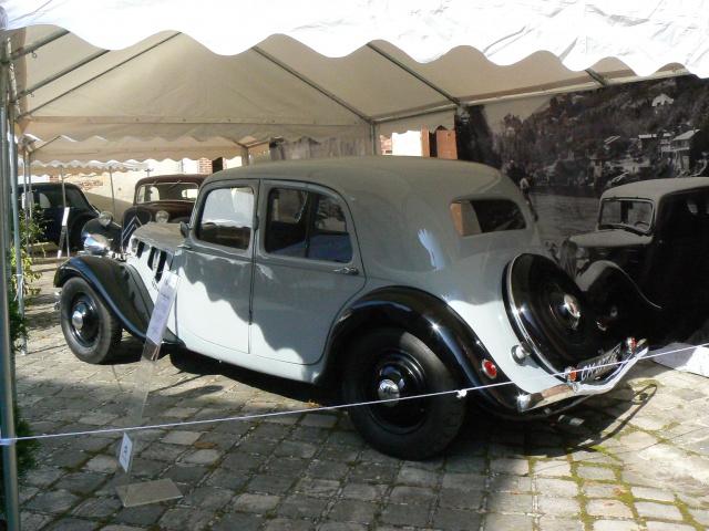 80 ans de bons et loyaux service la TRACTION avant Citroën 427668P1190797