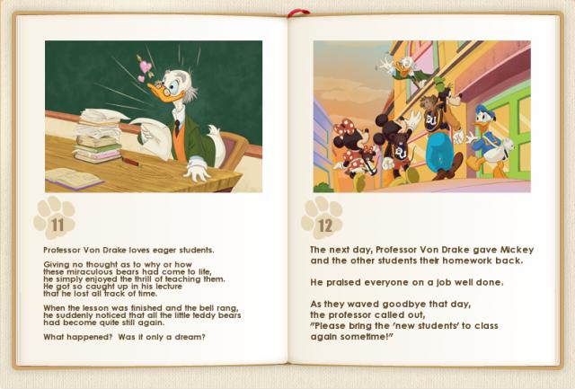 Disney UniBEARsity 431066storybook1112a