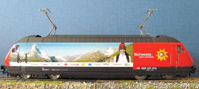 SBB 460 036-7  ROCO  3 rails AC 431076IMG3914