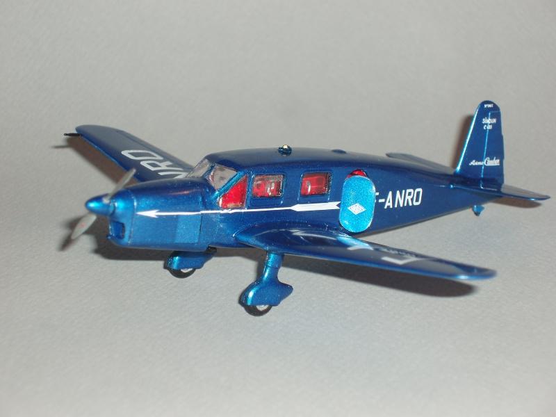 CAUDRON C-635 Simoun  (version Air Bleu). 1936  Heller 1/72. 435393cs28