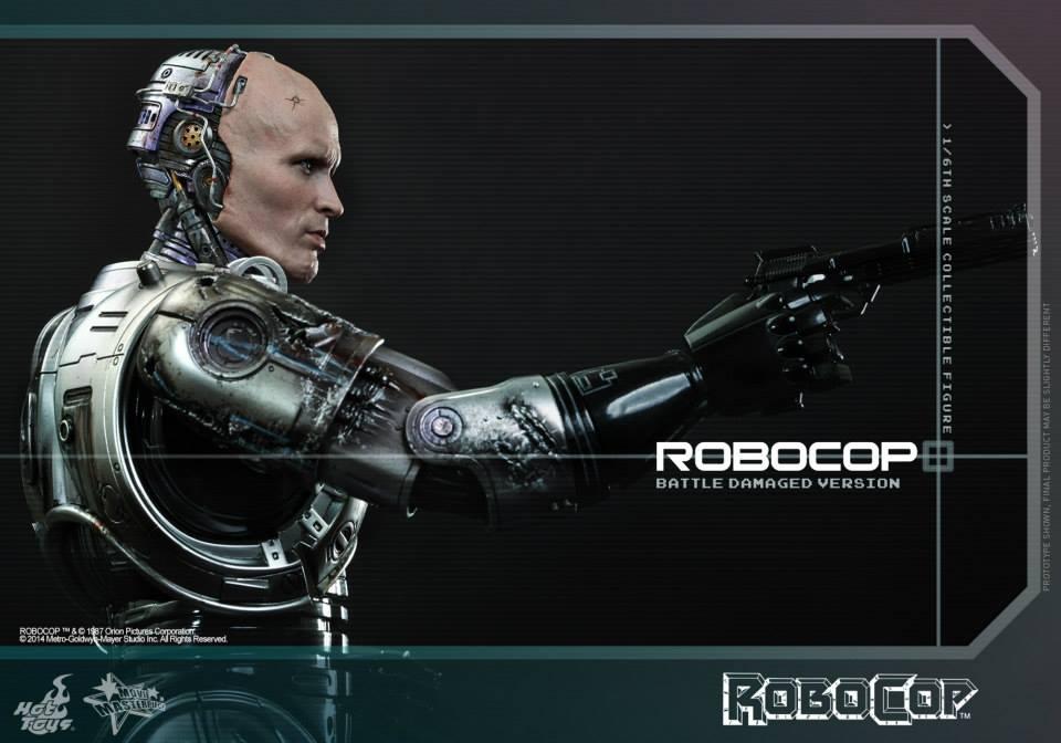 HOT TOYS - Robocop - Robocop (Battle Damaged Version) 437055112