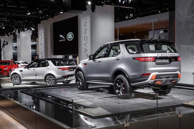 Nouveau Discovery SVX : Land Rover dévoile son champion tout-terrain au Salon de Francfort 438852jlrfrankfurt2017029