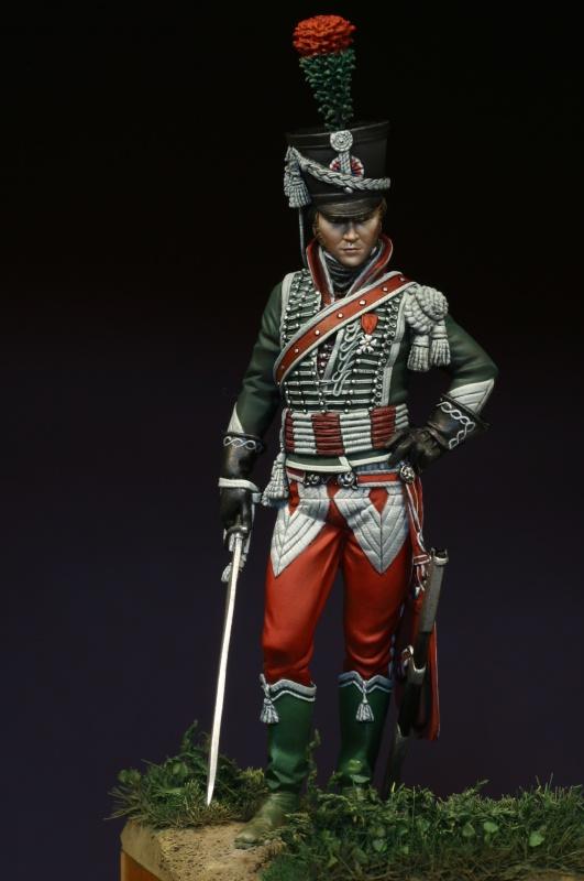cavalier léger du 12éme régiment (?) 1806  75mm pégaso 438867IMG0174