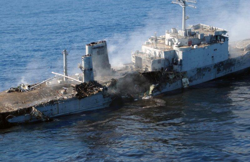 LANDING SHIP TANK (LST) CLASSE NEWPORT  440016USSSchenectadycible