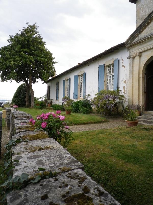 (40) Plantarium et chemin de ronde - Gaujacq 440776IMGP4505