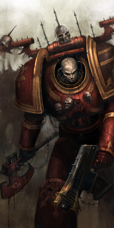 [W40K] Collection d'images : Space Marines du Chaos - Page 3 441452Chaosworldeaterbykunkka