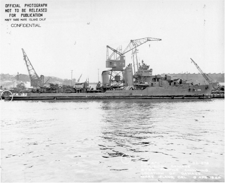 USN DESTROYERS CLASSE MAHAN 443463USSSmith1944