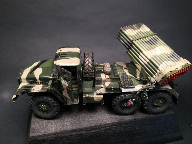 BM-21 Grad - Trumpeter 1/35 445337IMG3259