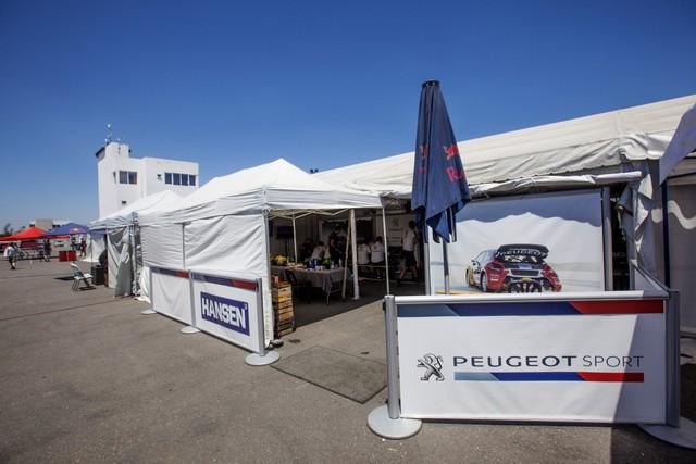 Les PEUGEOT 208 WRX Vice-Championne du Monde FIA de Rallycross 445757MG4048
