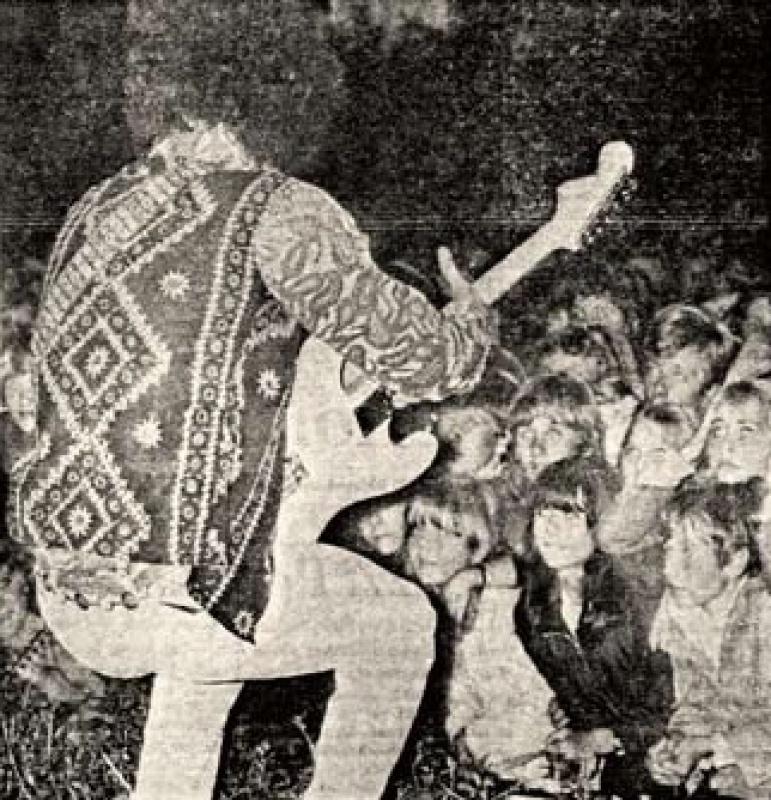 Göteborg (Stjaarnscenen) : 12 septembre 1967 [Second concert] 446346page5901003full