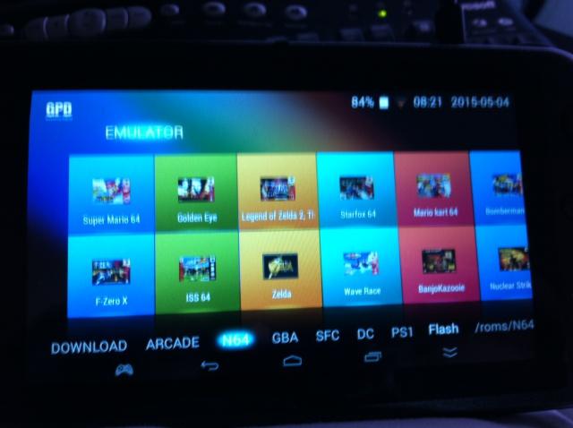 Vidéo test joystick config sur GPD Q9 450484IMG2405