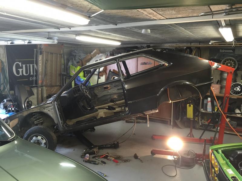 La voiture de madame : Scirocco GT 1976 1ère main 4511029355