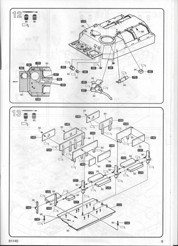 AMX 13 VCI 1/35ème Réf 81140 452442VCI009