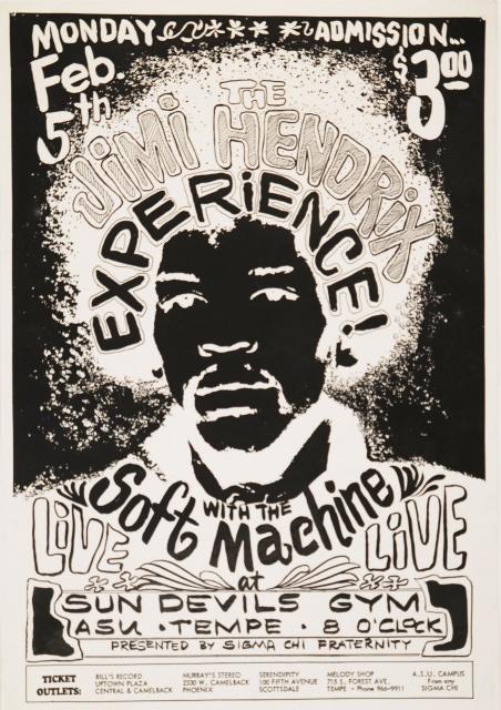 Tempe (Arizona State University) : 5 février 1968  45297733720alg