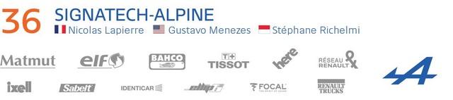 Alpine deuxième et troisième LMP2 sur la grille des 24 Heures du Mans 4560737730516