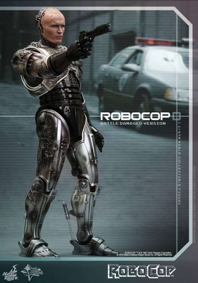 HOT TOYS - Robocop - Robocop (Battle Damaged Version) 458803102
