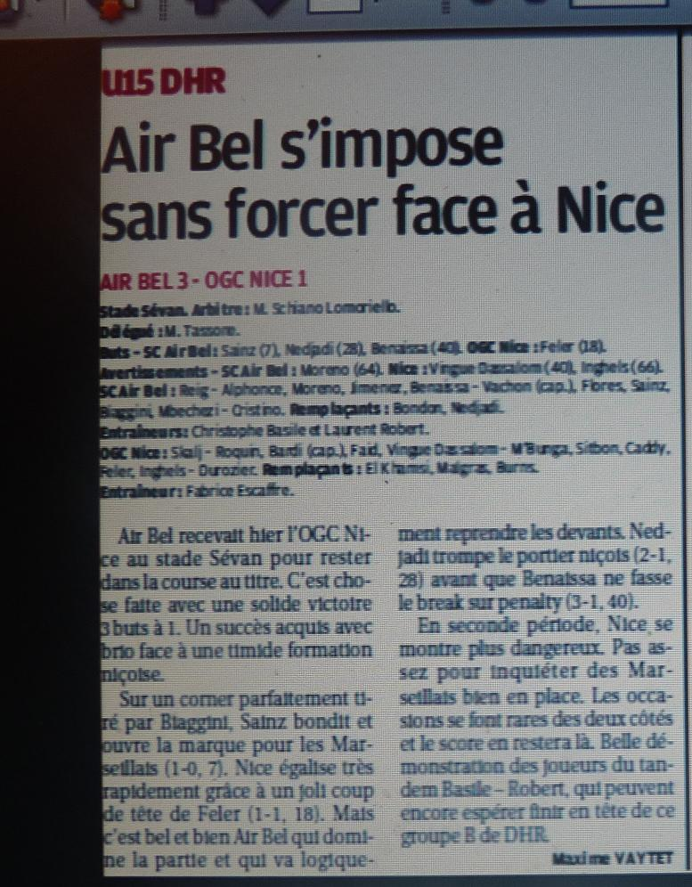 OGCNICE B/ CFA  GROUPE SUDEST C  - Page 2 460081CopiedeP1160879