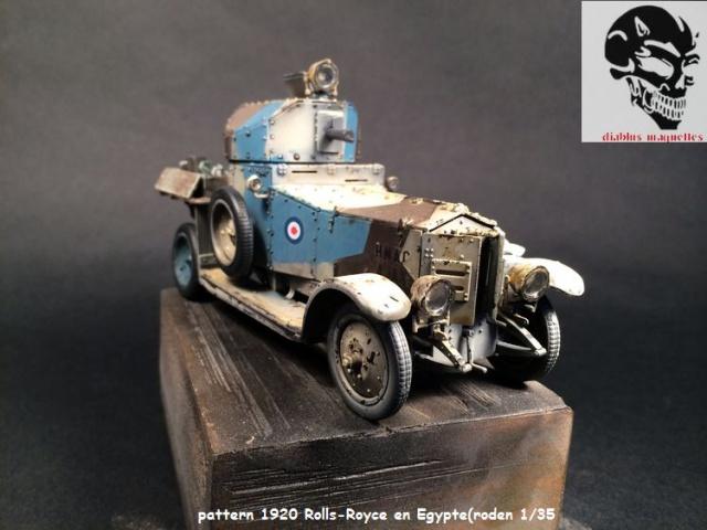 Pattern 1920 Rolls-Royce MK1 en Egypte - (Roden 1/35) 463534peinturePattern003