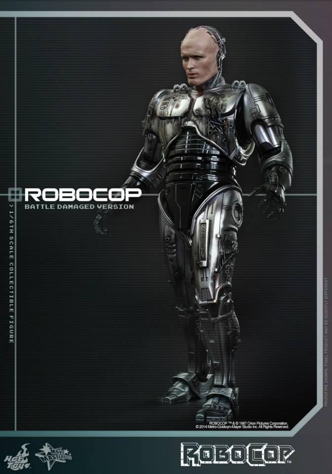 HOT TOYS - Robocop - Robocop (Battle Damaged Version) 466899108