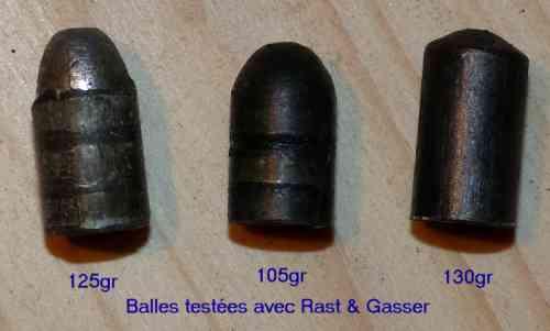 8 Gasser - Rechargement  467184TypesdeballesplombRS