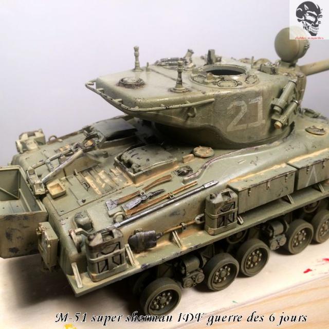 M-51 Super Sherman IDF - Academy 1/35 467278IMG4899