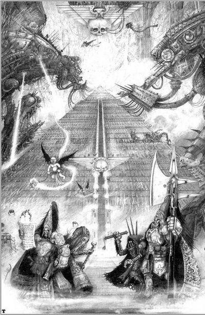 [Horus Heresy] Fanfiction : La Bataille de Terra (Projet et discussions) - Page 2 468165ImperialPalace1