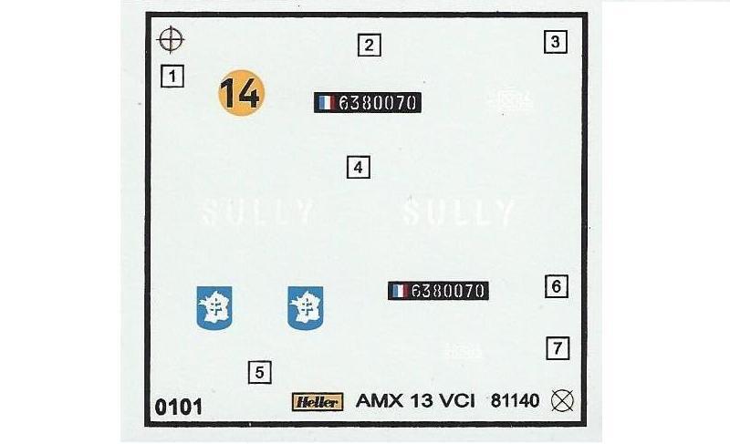 AMX 13 VCI 1/35ème Réf 81140 468194VCI020