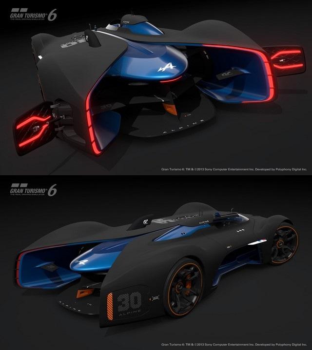 Alpine Vision Gran Turismo : bientôt sur l'écran de votre salon 47080765301161