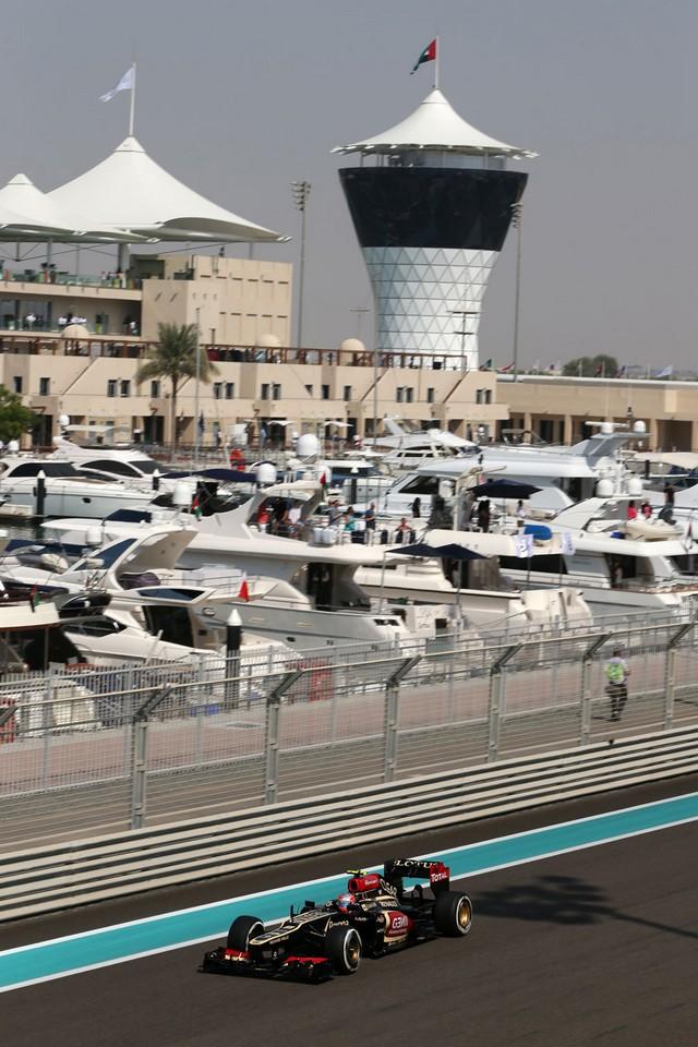 F1 GP d'Abou Dhabi 2013 : (essais libres-1-2-3-Qualifications) 4709002013GPAbudhabiRomainGrosjean