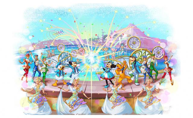 (Tokyo DisneySea) Nouveau spectacle aquatique Crystal Wishes Journey (15 avril 2016) 470972W35