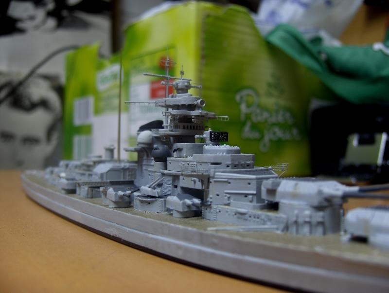 Bismarck 1/700 [Trumpeter] 471537HPIM2056