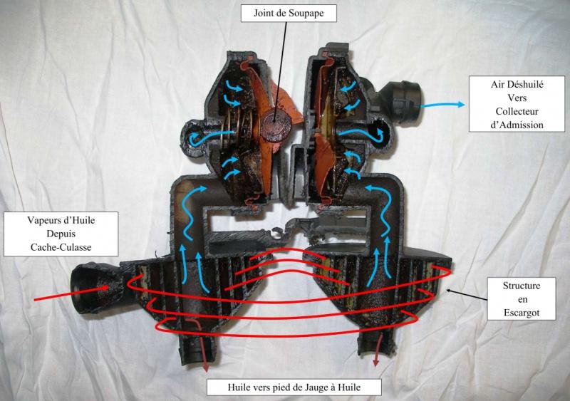 [Moteur M52TU/M54] Changement soupape de ventilation d'huile 472293037Photodeshuileurencoupe01