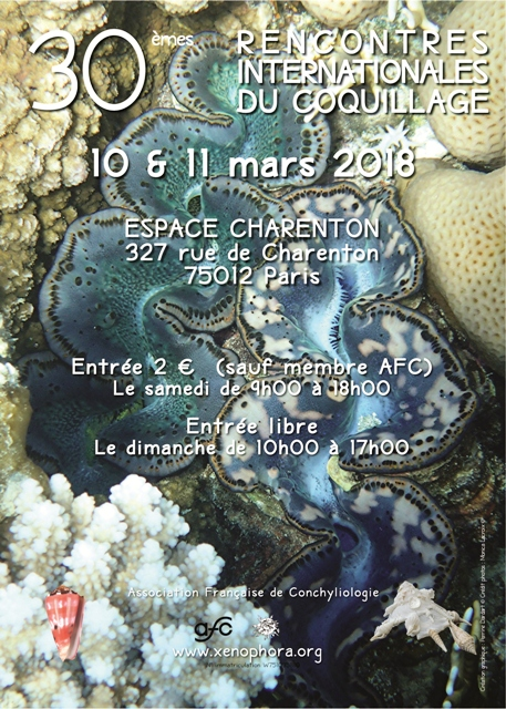 30ème Rencontres Internationales du Coquillage 10 & 11 mars 2018 472398RICParis1011032018web