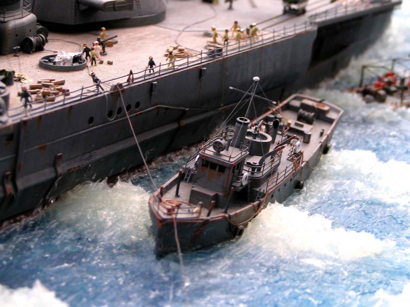 Yamato waterline au 1/350° de Tamyia  4724621522