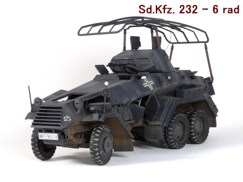 Sd.Kfz. 232 6 Rad - France 1940 - Italeri 1/35 475120P1040097