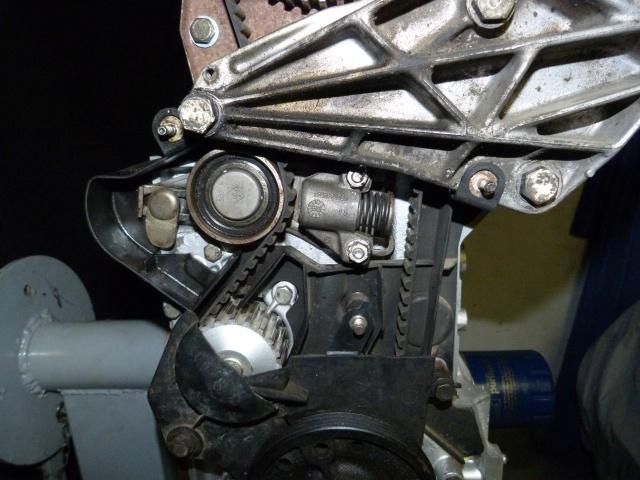 TUTO , remplacement kit distribution et pompe a eau 475740P1130841