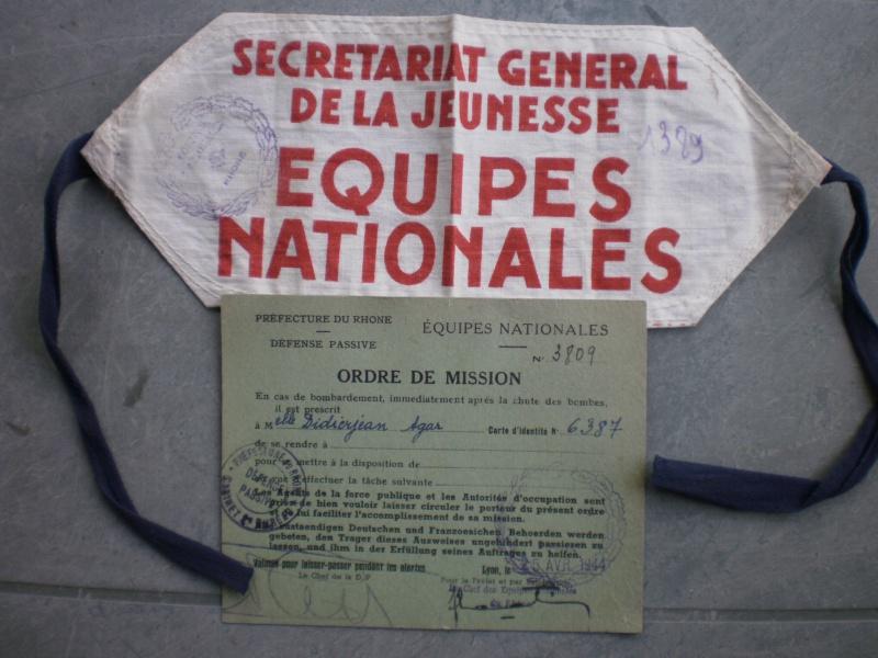 Les Equipes Nationales du Régime de Vichy 475986P5300893