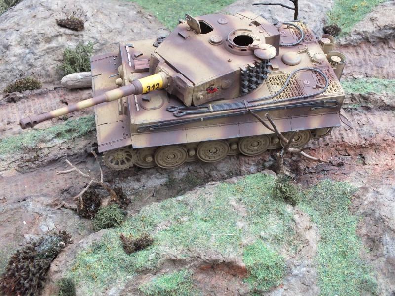 Tiger I Late version ,tamiya 1/35 (début de patine) - Page 3 476526DSCF6416