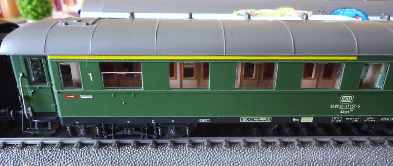Roco ho: voitures de la DB pour train express 477232DSC03556