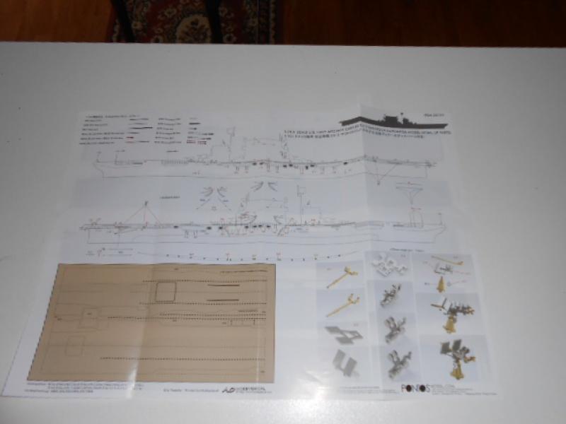 Saratoga CV3 au 1/700 de Tamiya par lionel 45 480194026