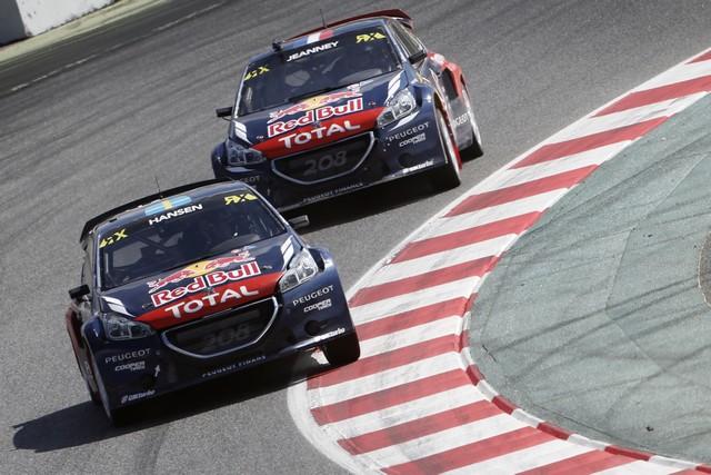 Le Team Peugeot Hansen creuse l'écart à Barcelone 48293255fecd65a358c