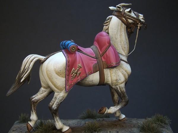 Trompette des chasseurs de la Garde Imperiale 483300tromb12