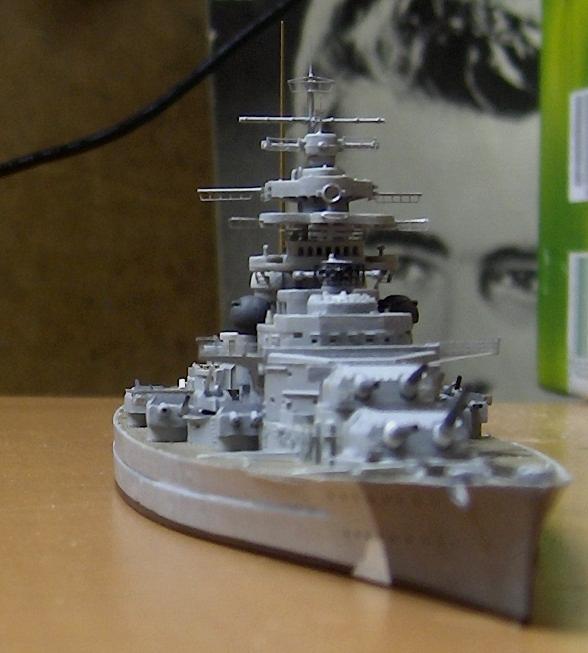 Bismarck 1/700 [Trumpeter] 484153HPIM2082
