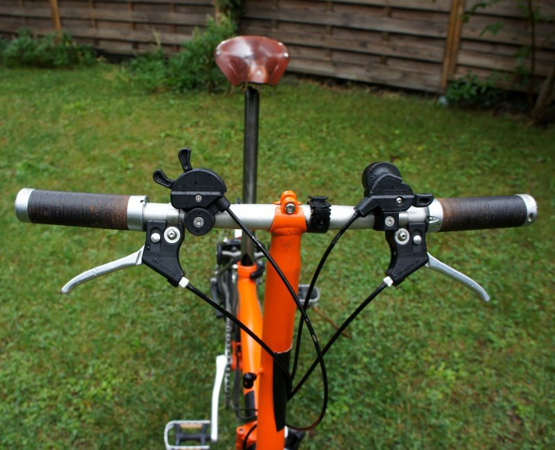 VENDS Brompton S6LX titane orange plus options 1280 EUROS [vendu] 484956brompton008