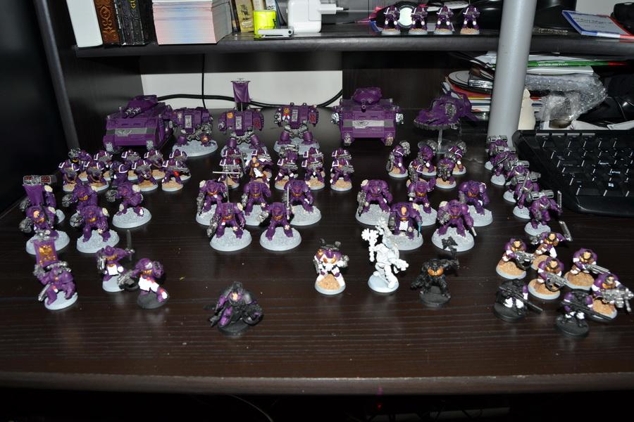 Les Purple Knight 485366WH40K009