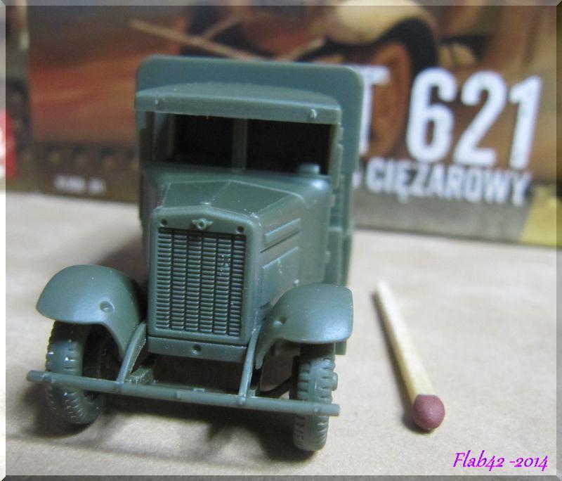 Camion Fiat 621 dans l'armée Polonaise - First to flight - 1/72ème 486493165