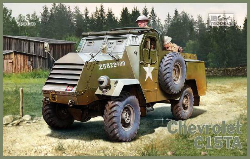 CHEVROLET C15TA - Normandie 44 - IBG 1/35 487115IBG35020